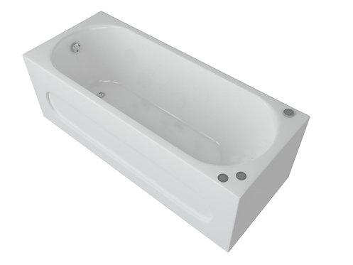 Ванна акриловая AQUATEK Оберон 170х70 +экран