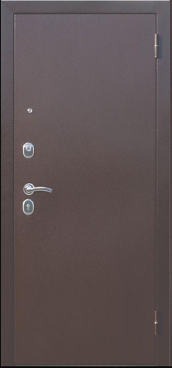 """Входная металлическая дверь """"Царское зеркало"""" (MAXI Венге; Белый Ясень)"""