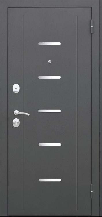 """Входная металлическая дверь """"Гарда Царга""""  (7,5; Муар, Тёмный кипарис)"""