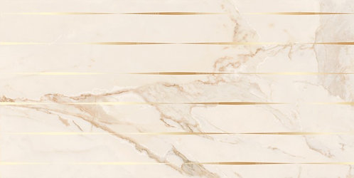Kerlife Декор 31.5x63 CALACATTA GOLD LINEA