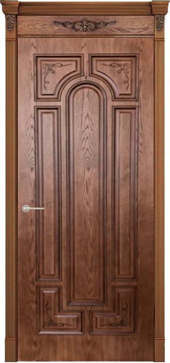 """Межкомнатная дверь """"Арес"""" (Орех 2)"""
