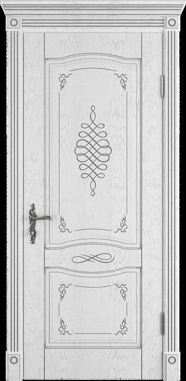 Межкомнатная дверь Веста (Глухое полотно) (Ivory PC, Bianco PG, Honey PB)
