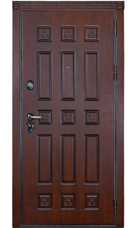 Входная дверь Спарта (Дуб тёмный)