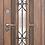 """Thumbnail: Входная металлическая дверь """"Виконт"""" (Белая сосна)"""