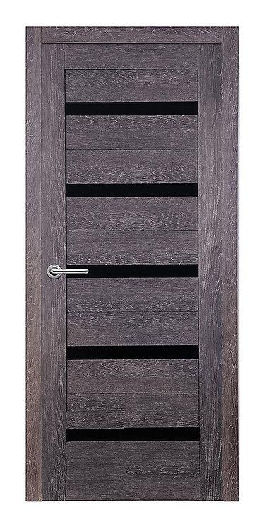 Межкомнатная дверь Corsa S-21 (Дуб графит,кедр светлый, дуб седой)