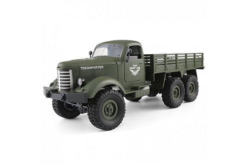 Грузовик Радиоуправляемый транспортер WL Toys Army Truck 6WD