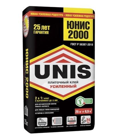 Клей UNIS 2000 25кг