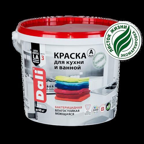 Краска DALI для кухни/ванной 2,5л.