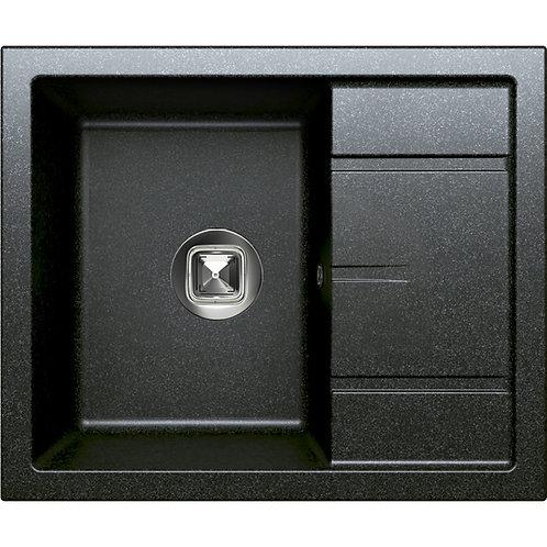 Мойка Tolero R-107 №911 чёрная