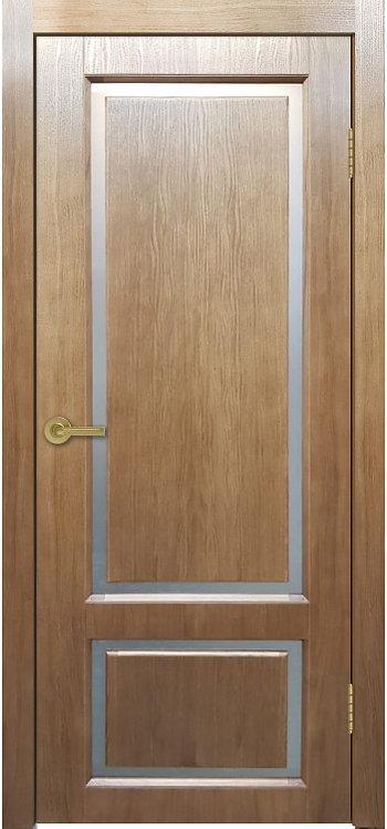 Межкомнатная дверь Мадрид 2 (Дуб полисандр)