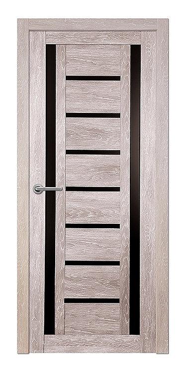 Межкомнатная дверь Corsa S-26 (Дуб графит,кедр светлый, дуб седой)