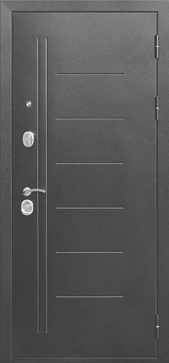 """Входная металлическая дверь """"Троя"""" ( Макси Зеркало)"""