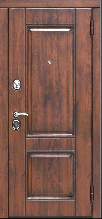 """Входная металлическая дверь """"Вена"""" (Грецкий орех)"""