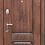 """Thumbnail: Входная металлическая дверь """"Вена"""" (Грецкий орех)"""
