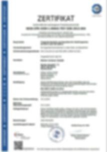 Zertifikat DIN 1090