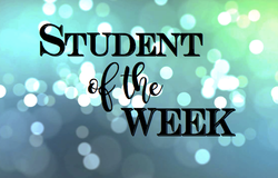 Nominate a Student of the Week