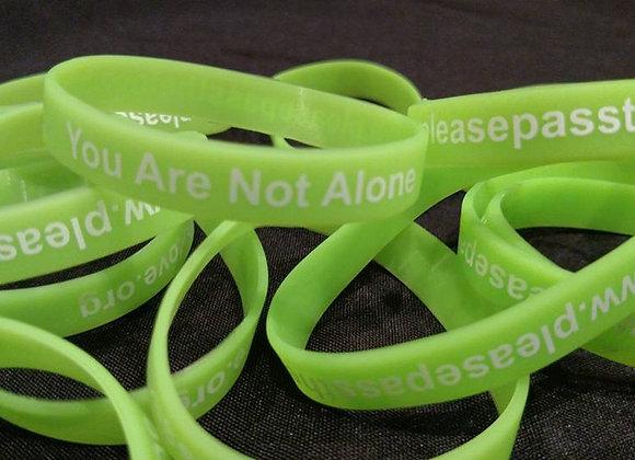 You Are Not Alone Bracelets
