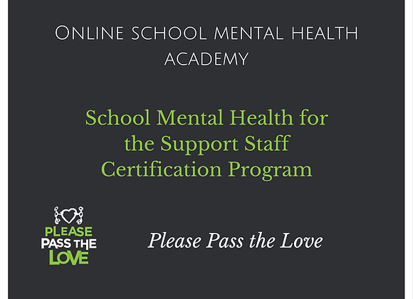 SMH Academy for Support Staff Certification Program Access