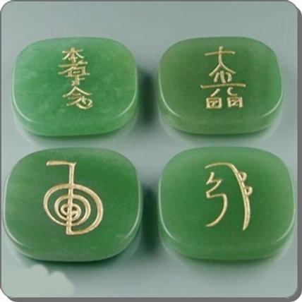 Piedras simbolos reiki