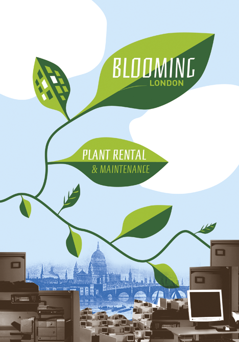 Blooming London brochure