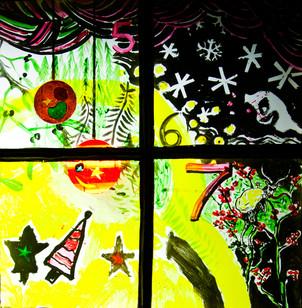 Alternative Christmas window