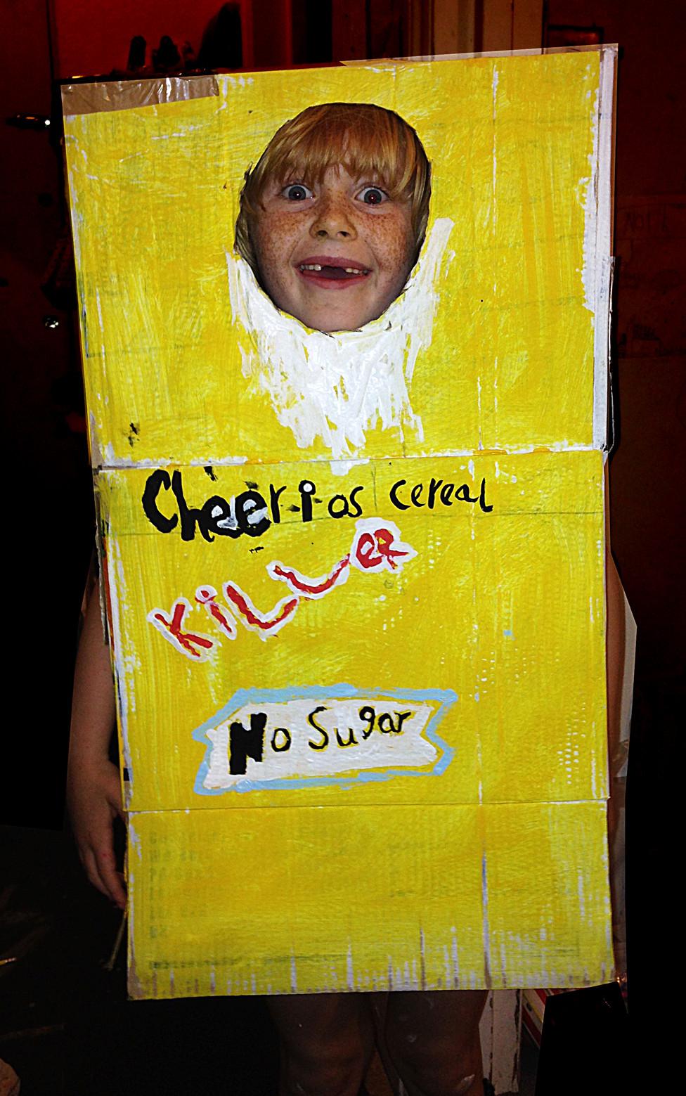 cheerio cereal killer Halloween costume