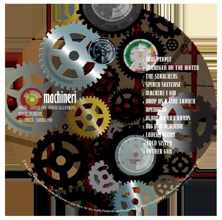 machinerei cd disc