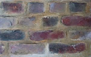 faux brick wall painting