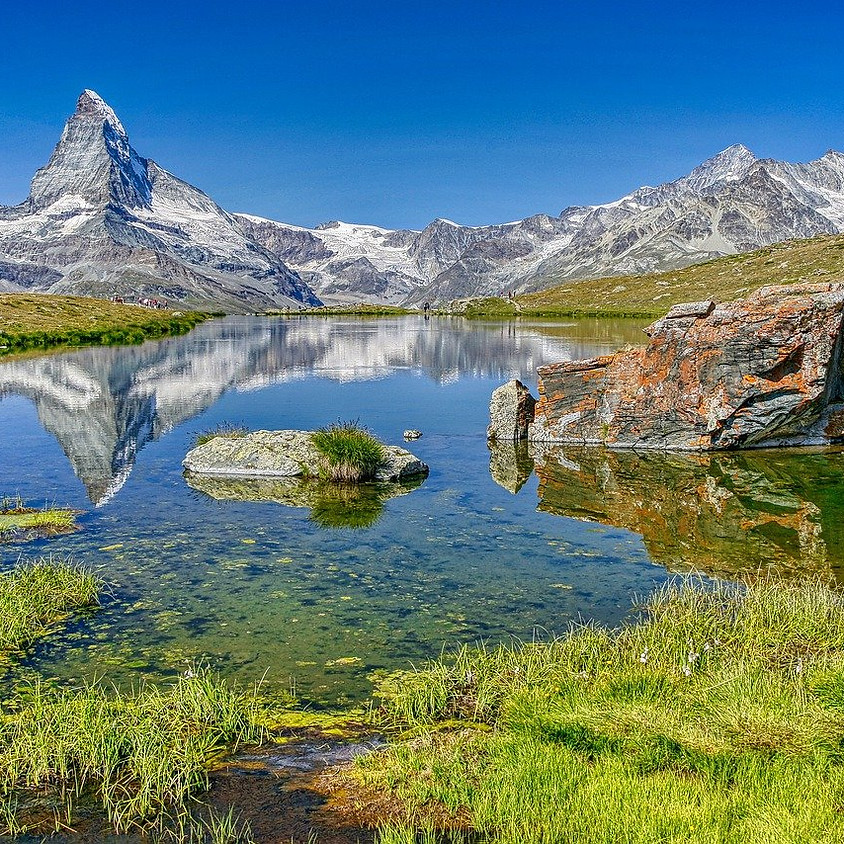 Von Hütte zu Hütte in den Bergen von Zermatt