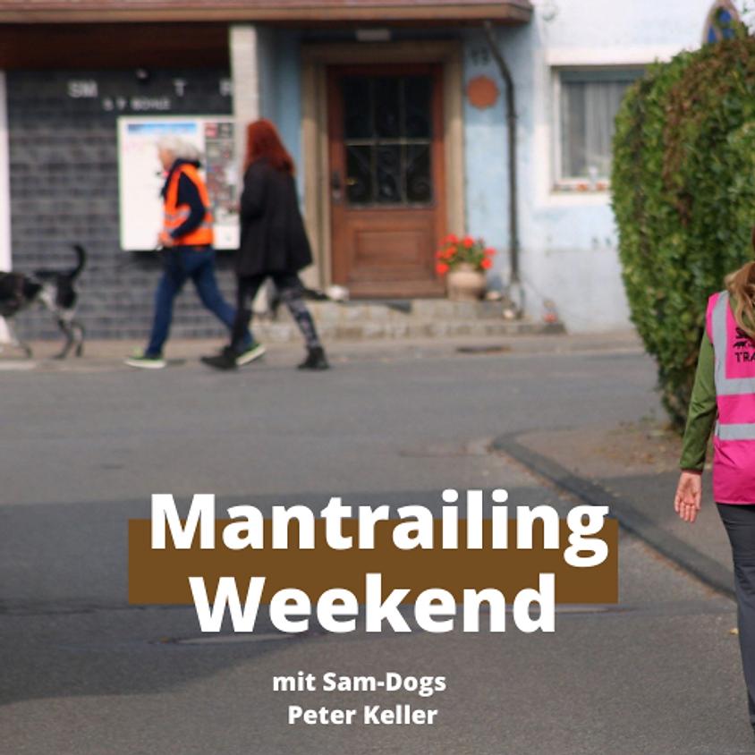 Mantrailing Weekend mit Sam Dogs