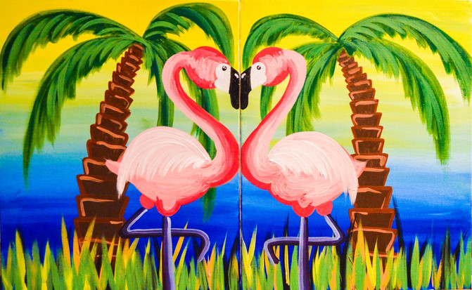 Flamingoed