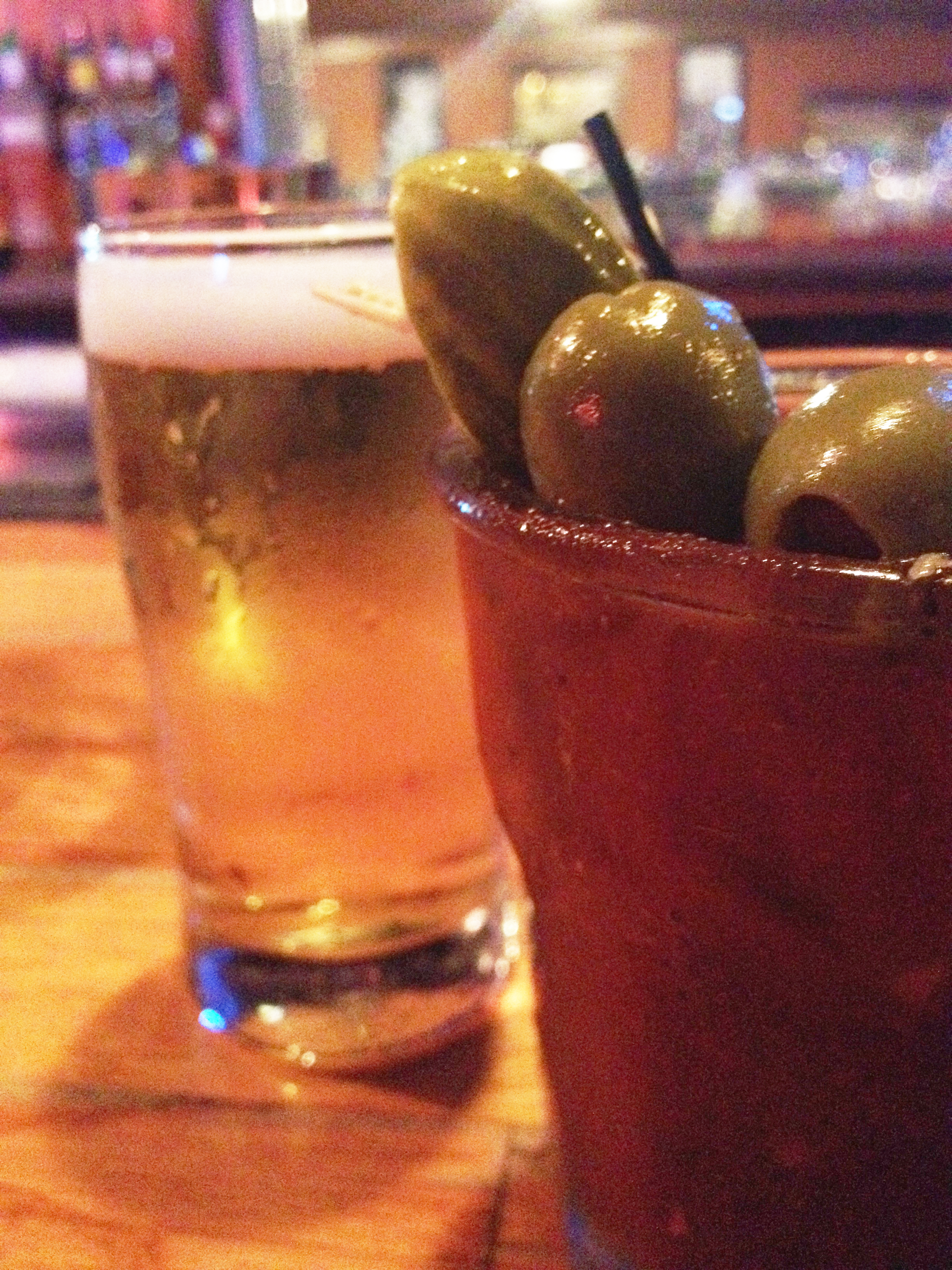 Bloody Mary w/beer back - Thirsty?