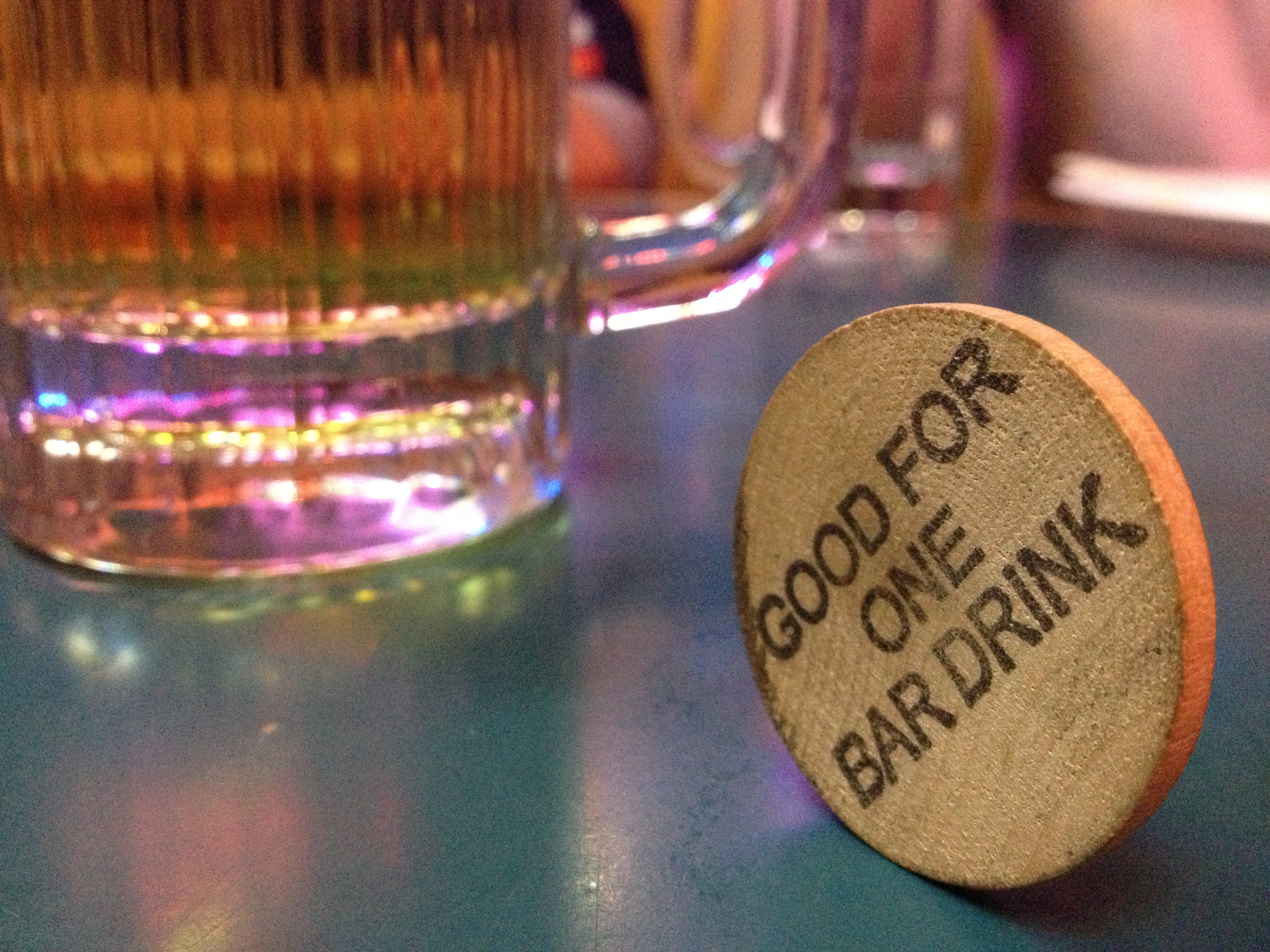 Share the Love = Drink tokens