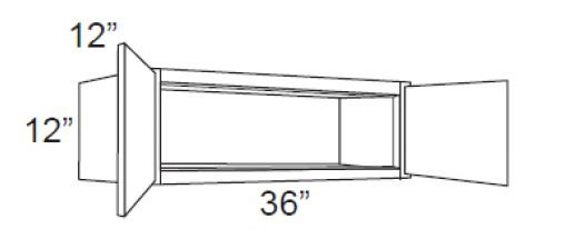Wall Over Refrigerator Cabinets