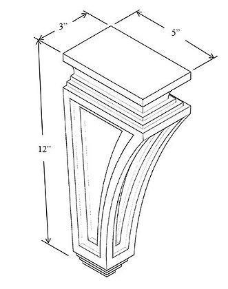 Corbel - Raised Panel