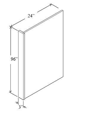 Refrigerator End Panel