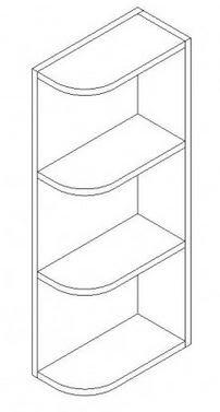Wall Open End Shelf