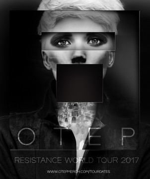OTEP World Tour Event Poster
