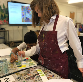 Year 4 Art Lesson on Robert Delaunay