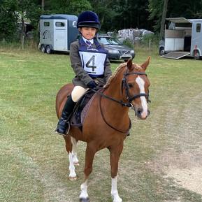 Zarah's Horse Riding Success!