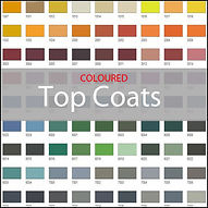 Coloured GRP Topcoats