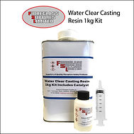 Water Clear Casting Kit 1Kg