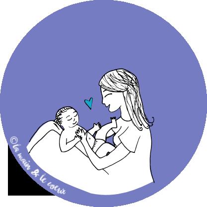 Massage bébé, douceur et lien