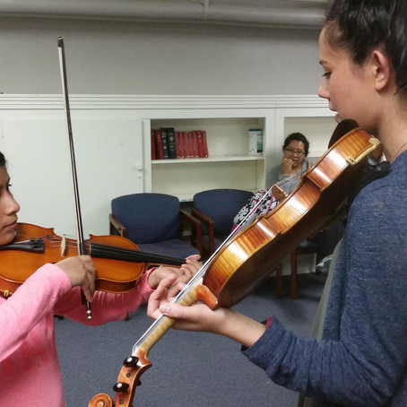 WUNC: Free Music Lessons Level Playing Field For Low-Income Kids