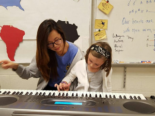 Wake Forest Students Teach Music (and More) to Some of the Area's Most Deserving Children
