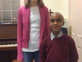 Teacher-Student Spotlight: Pitch Perfect Pair
