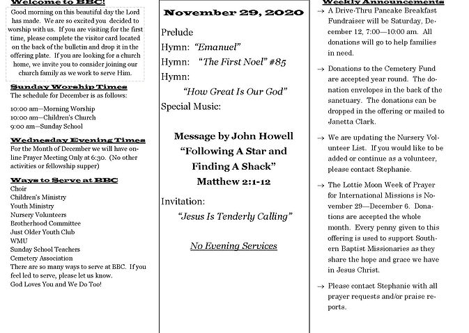 Church Bulletin November 29 2020 new des