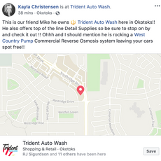 West Country Pump | Trident Auto Wash