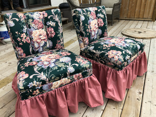 Floral Chairs