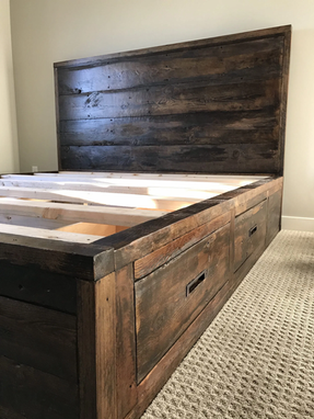Platfrom With Drawers